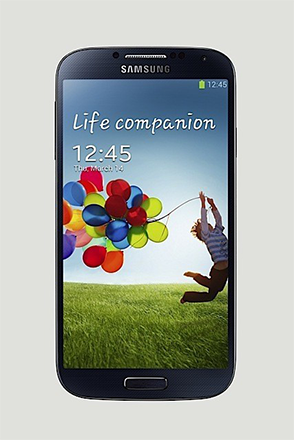 Galaxy S4 Black front