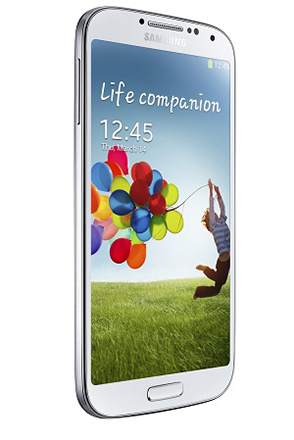 Galaxy S4 White profile