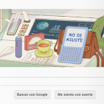 Google lanza doodle sobre The Hitchhiker's Guide to the Galaxy