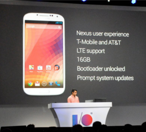 Galaxy S4 Google IO