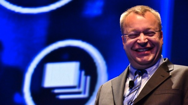stephen elop laughing