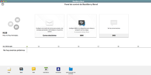 BlackBerry Blend en Mac