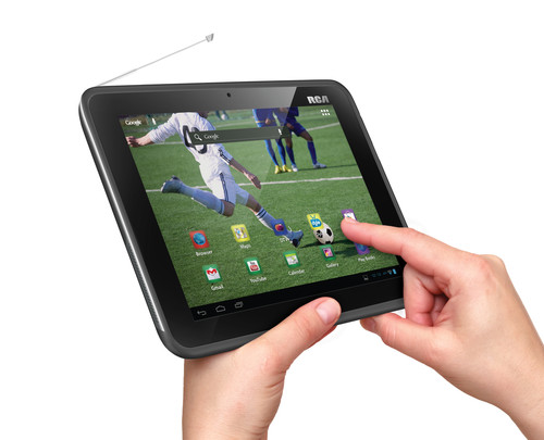 8 inch Mobile TV Tablet Hand 500