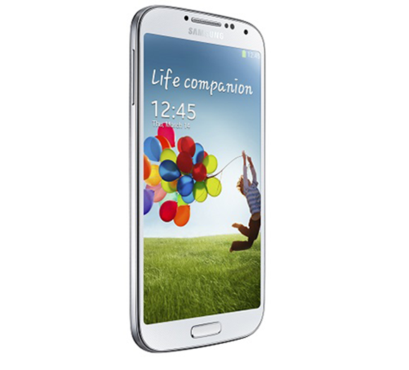 Galaxy S4 Front Page test