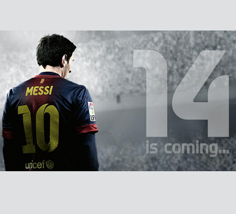 Messi FIFA14
