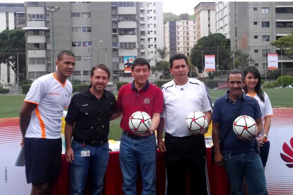Futbol Huawei Salomon Rondon