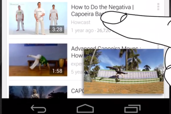 YouTube Multitasking