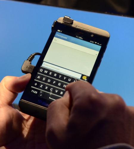 BlackBerry Z10 Stock