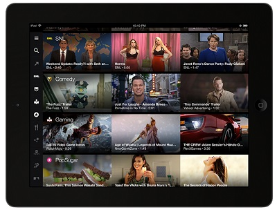 Screen Yahoo