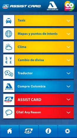 Aplicaciones Moviles Assist Card Colombia