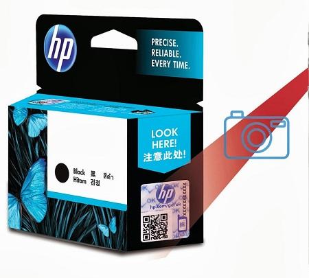 HP sello QR
