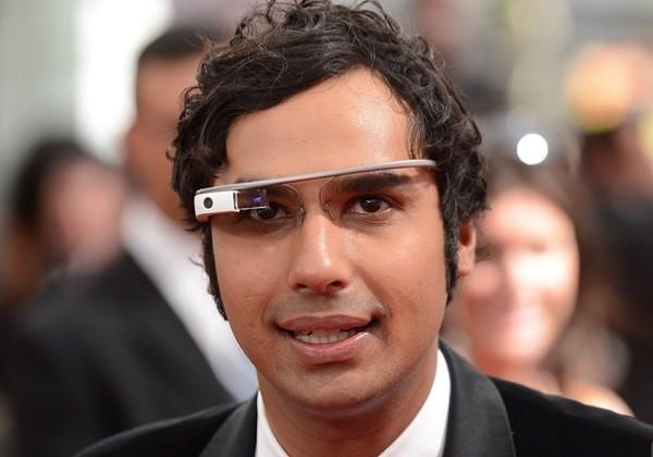 google glass kunal-nayyar