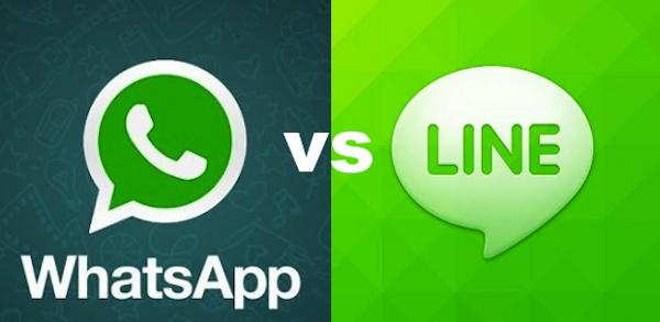 whatsapp vs line