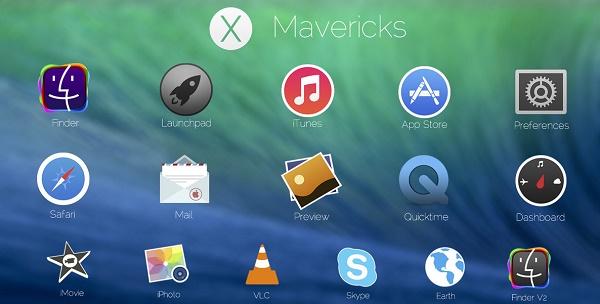 mac os x mavericks icons by theiconator-d6jtf64