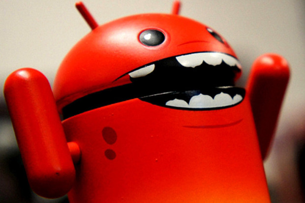 angry android