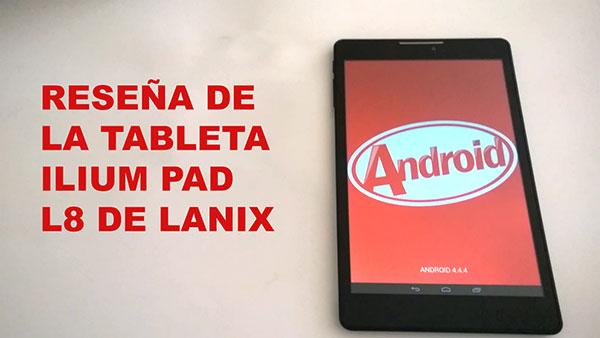 Lanix Ilium Pad L8