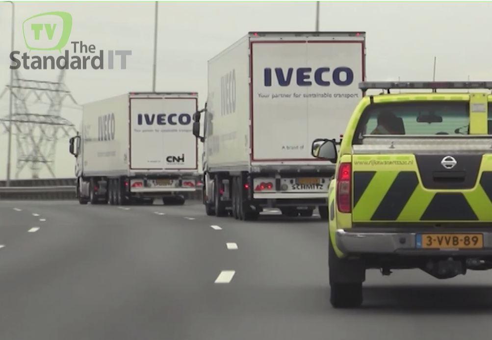 camiones pelotones