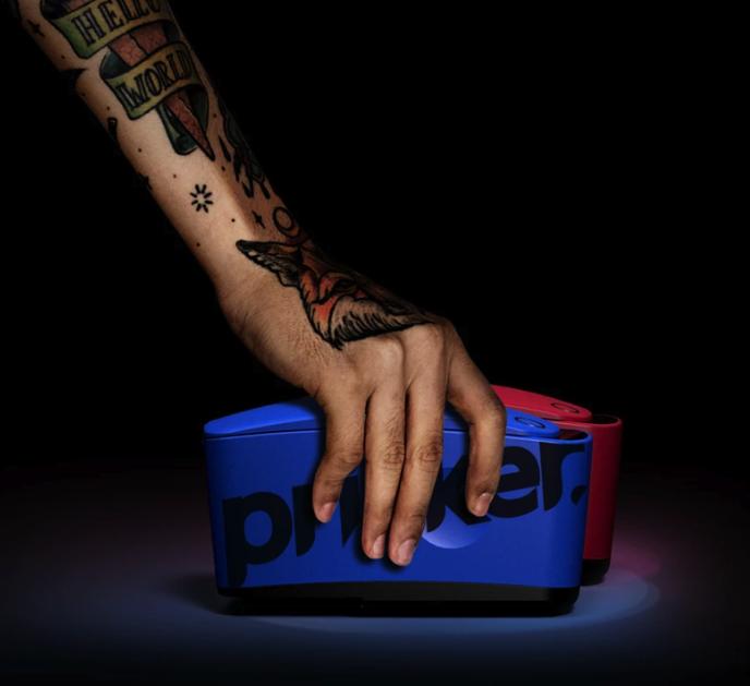 Tatuajes temporales en segundos con esta impresora