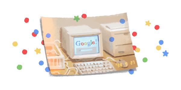 Google cumple años