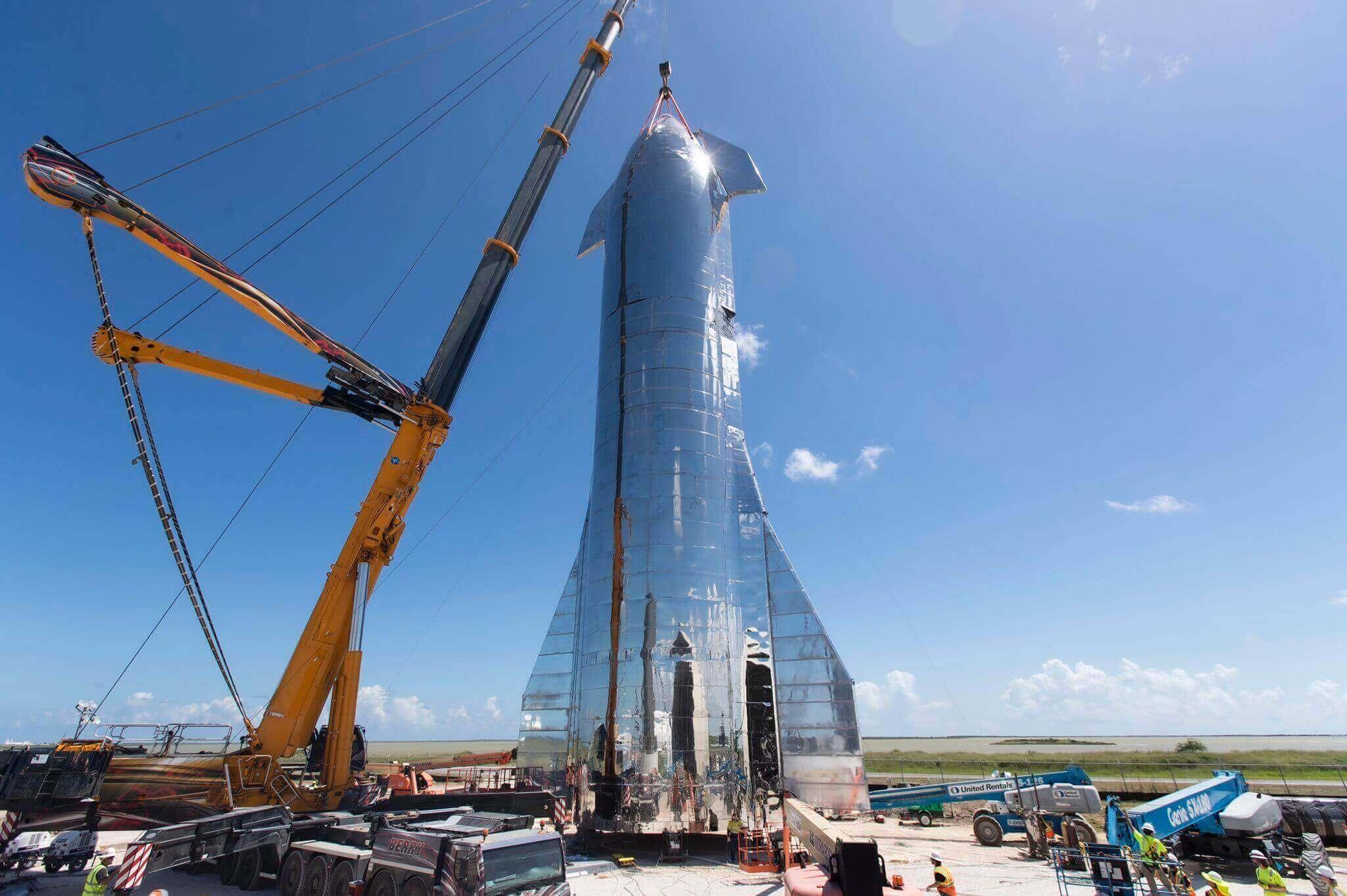 La presentación de la nave espacial de SpaceX