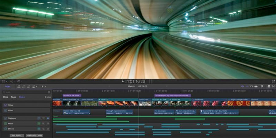 Apple actualizó Final Cut Pro X