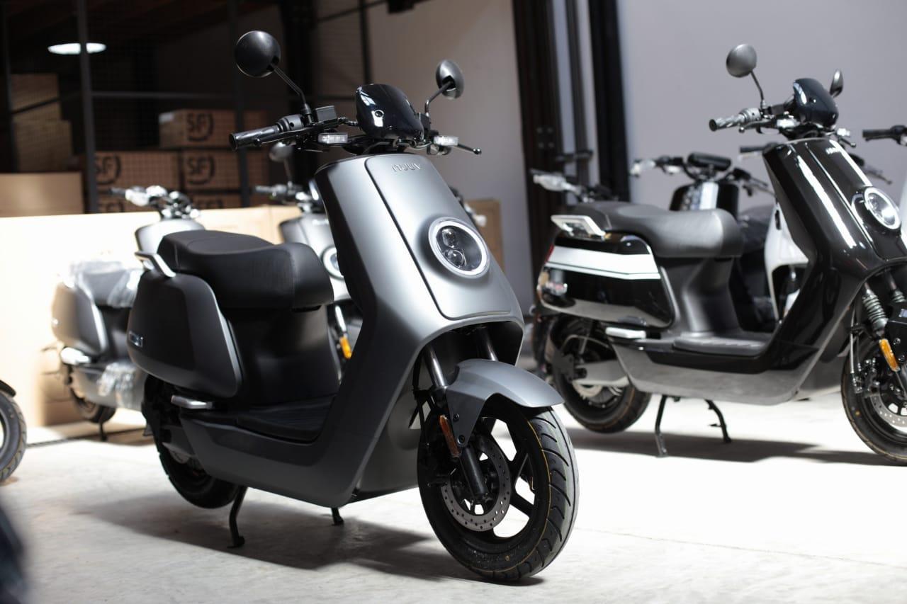 Llegaron los scooters NUUV a Argentina