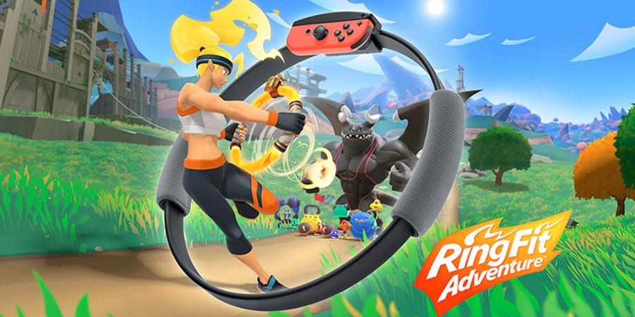 Ring Fit Adventure te entrena en la vida real