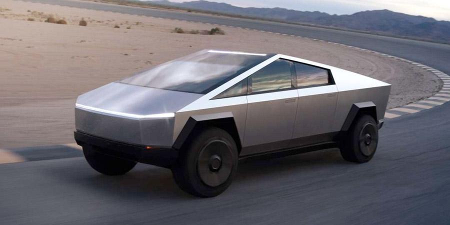 La Cybertruck de Tesla vino del futuro