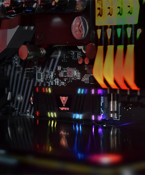 Patriot y Viper Gaming exhiben sus nuevos periféricos