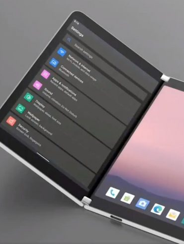 Surface Pro Duo con el nuevo emulador de Microsoft