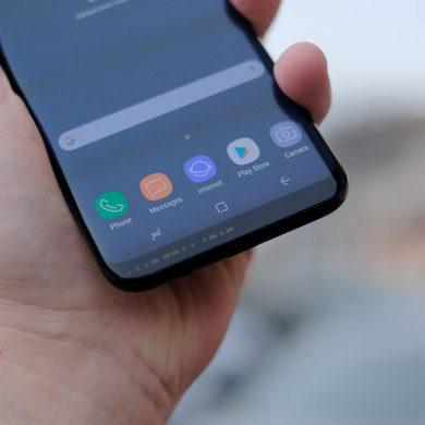 Android 10 no llegará a los Galaxy S8 y Note 8