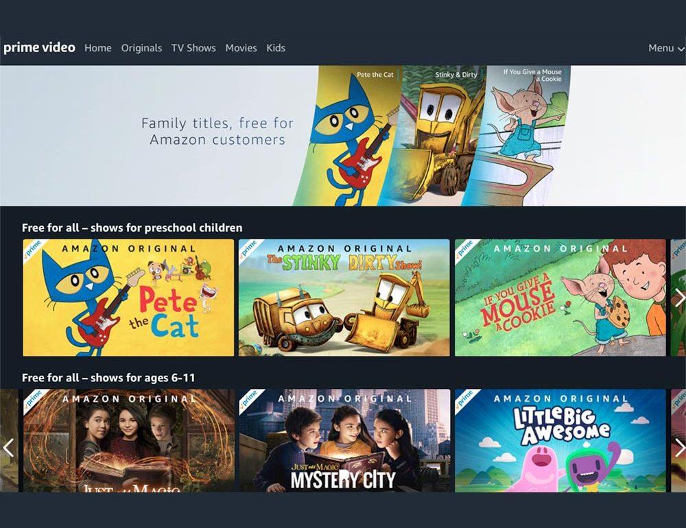 Amazon puso a disposición gratuita