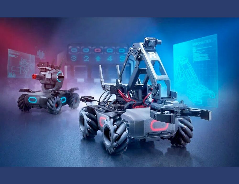 DJI presentó oficialmente su nuevo RoboMaster