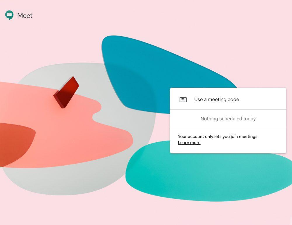 Se libera el uso Google Meet