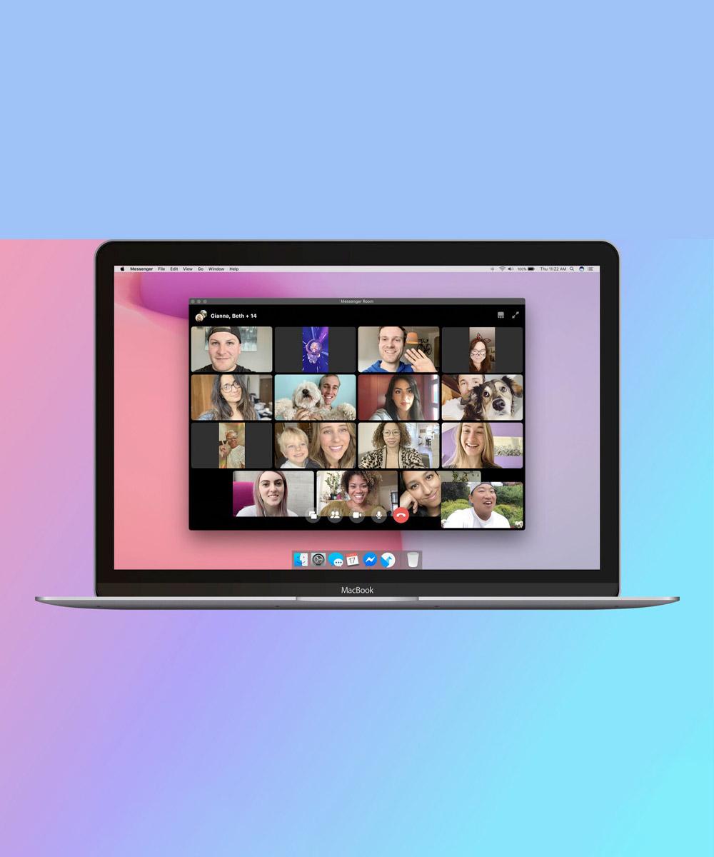 Facebook presentó Messenger Rooms