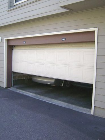 Cómo abrir el garaje de forma segura