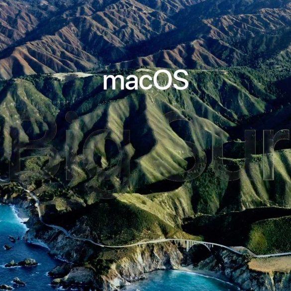 Todo lo nuevo de macOS Big Sur