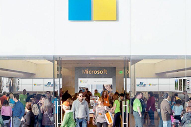 Microsoft cerrará permanentemente sus tiendas