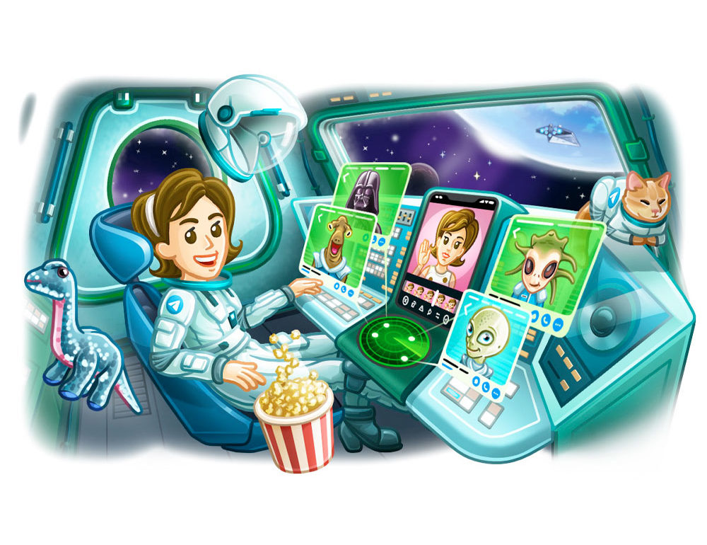 La última versión de Telegram
