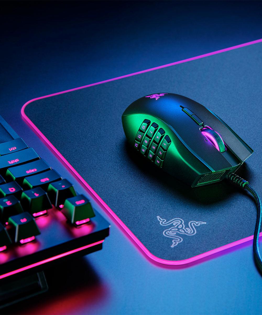 Ratón gaming para zurdos