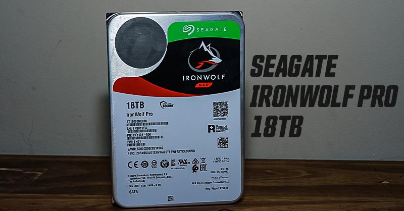 IronWolf Pro 18TB 3