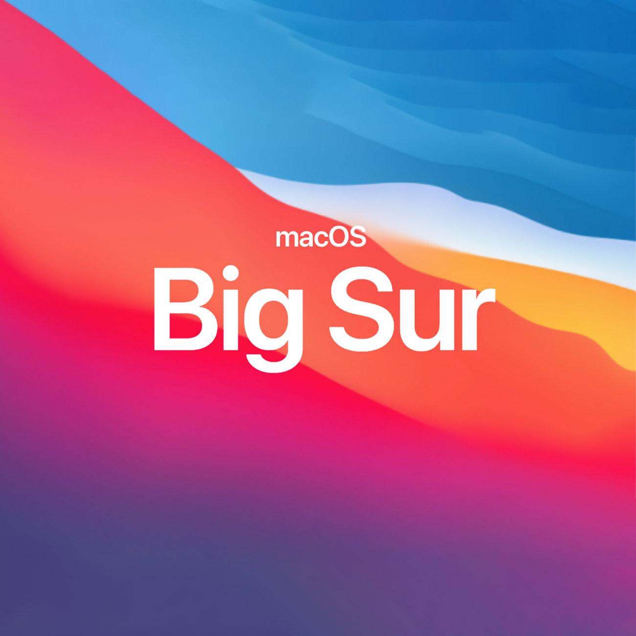 macOS Big Sur ya está aquí