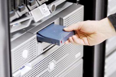 cinta magnética con capacidad de 580TB