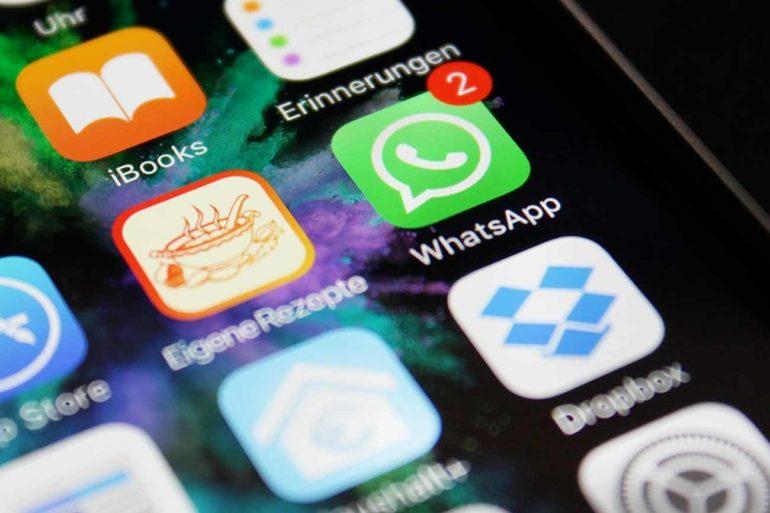 programar mensajes en WhatsApp en un iPhone