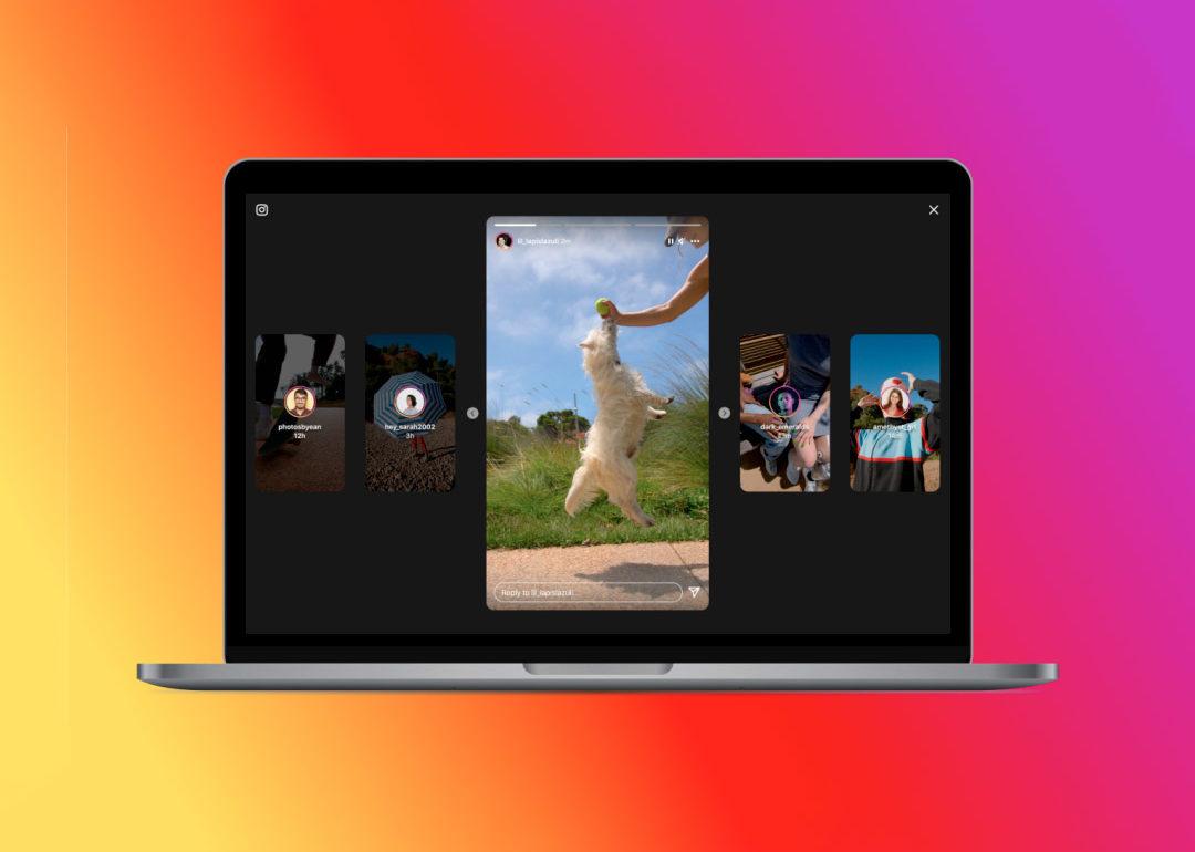 """Instagram estrenó nuevo diseño de las """"Historias"""""""