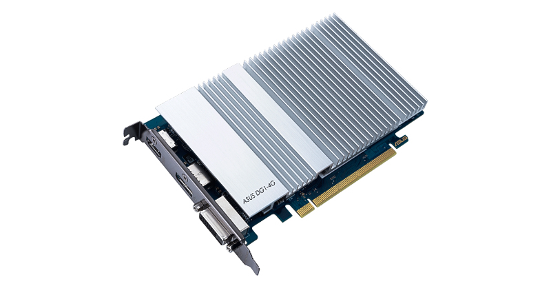 Intel reveló la versión de escritorio de su GPU Iris Xe MAX, como parte de un esfuerzo conjunto con otros dos fabricantes, entre ellos ASUS