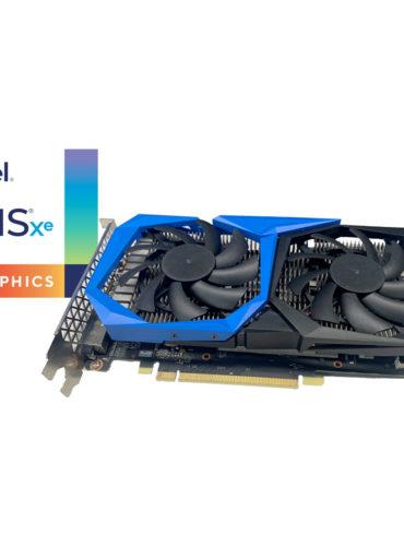 Intel reveló la versión de escritorio de su GPU Iris Xe Max