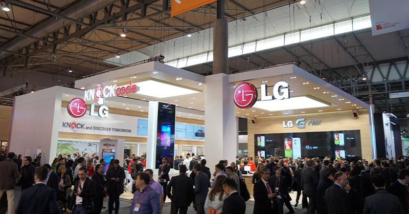LG en el MWC de 2014