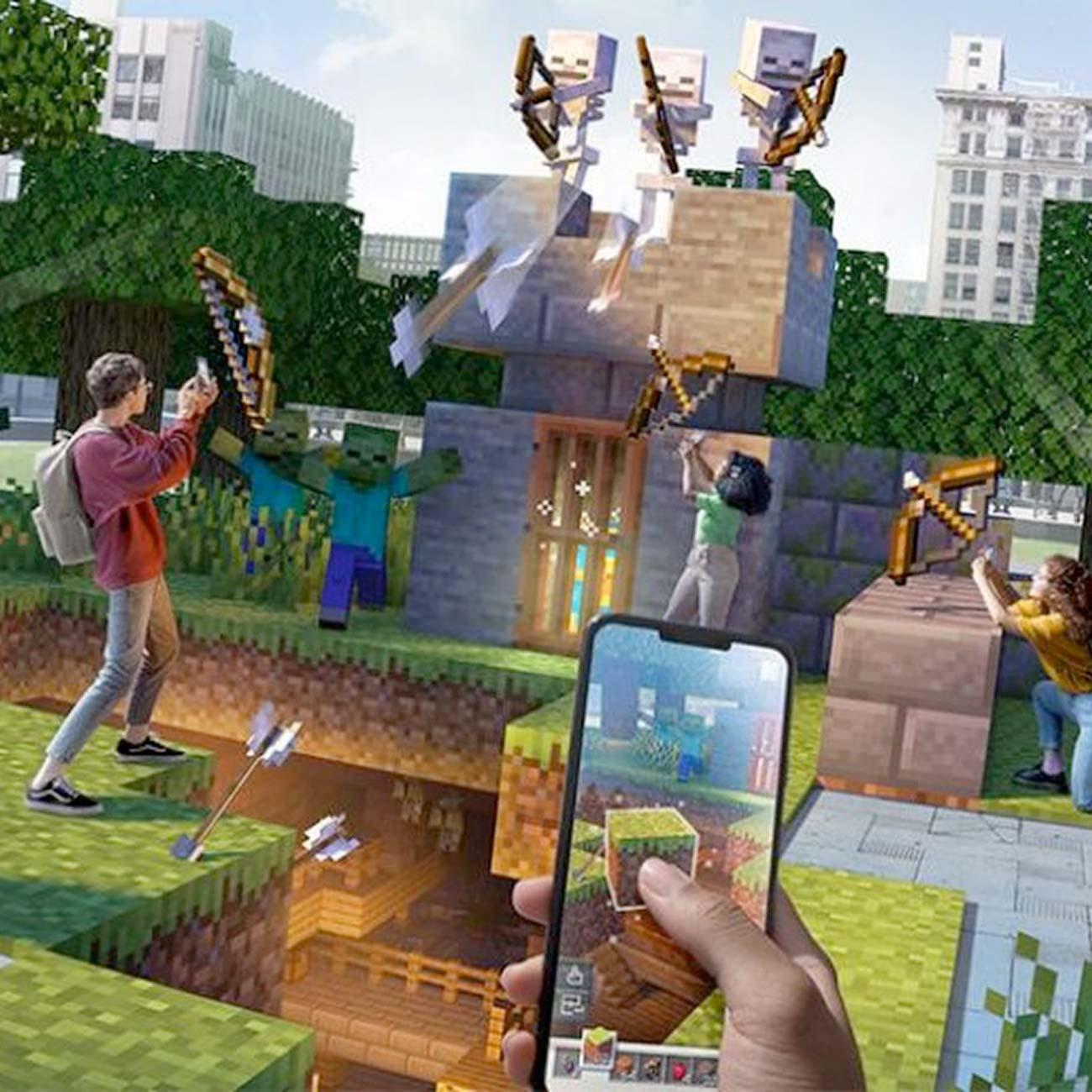 Minecraft Earth llegará a su fin