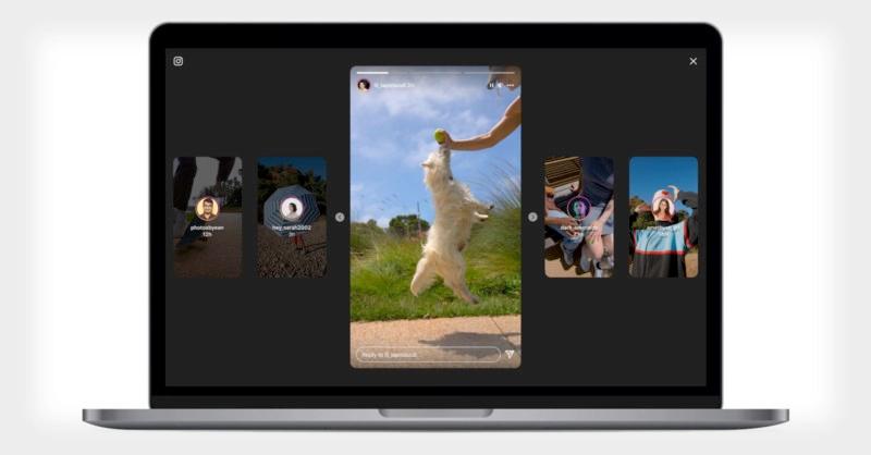 Asi lucen las nuevas historias de Instagram desde la computadora.jpg